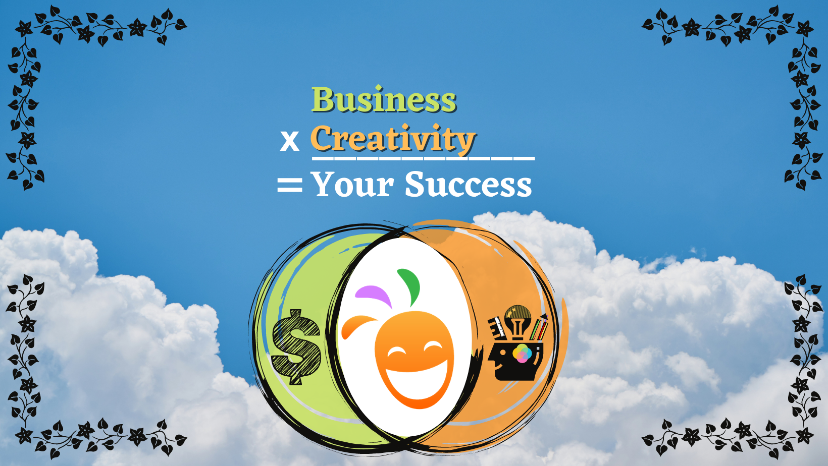 Creativity X Business = Your Success