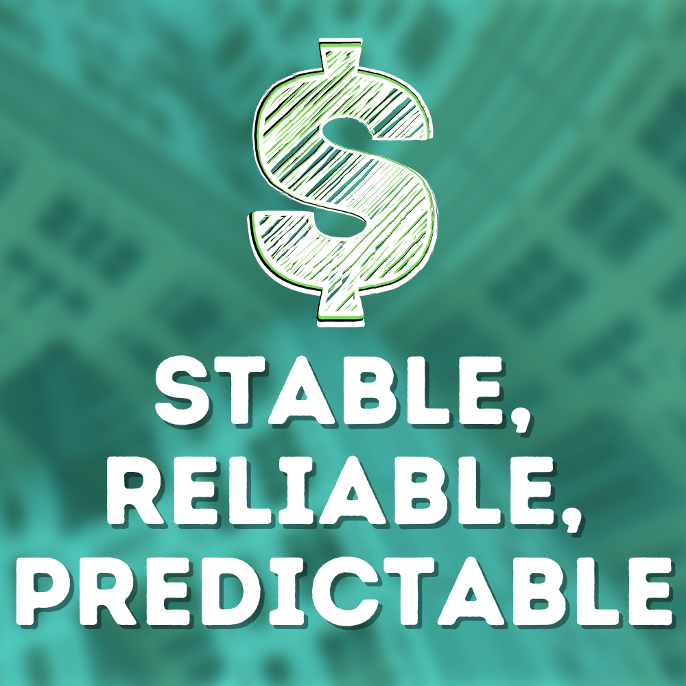 Build a business you can rely on, that's predictable - the wholesale formula